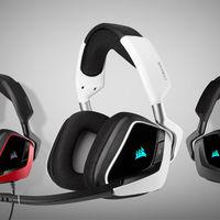 CORSAIR amplía su catálogo de auriculares gaming con los nuevos modelos VOID Elite 7.1