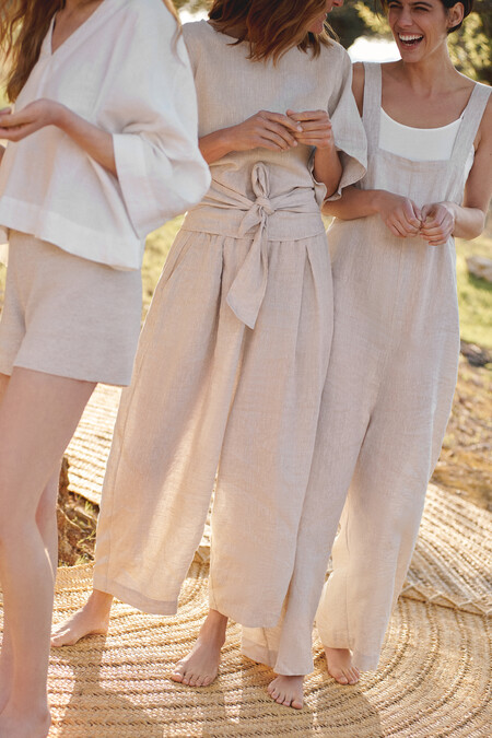 Oysho Linen Collection Editorial 12