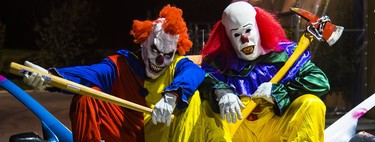 The clowns más disturbing and terrifying the cinema