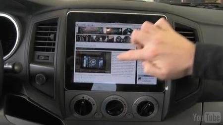 El iPad en el coche: las primeras aplicaciones