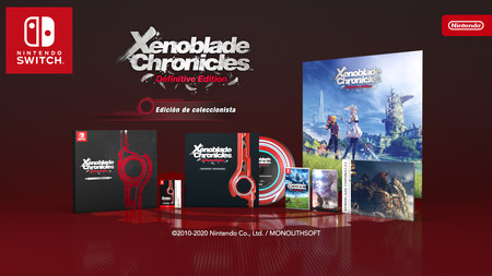 Xenoblade Chronicles Definitive Edition Edicion Coleccionista