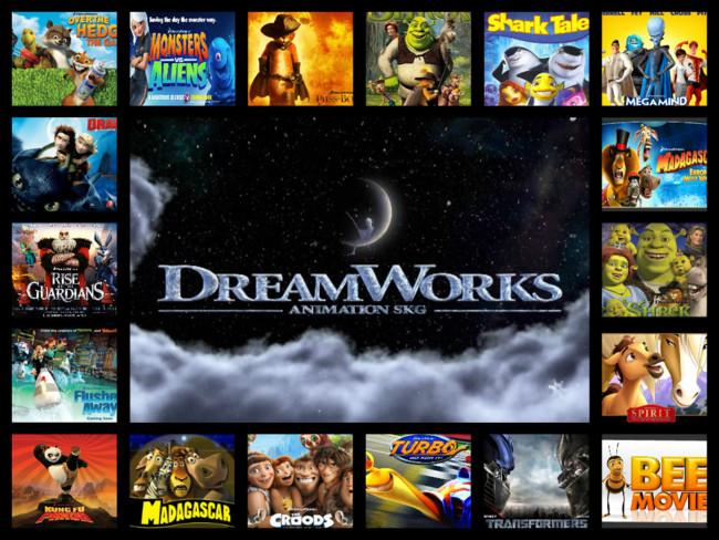 Dreamworks y sus producciones animadas