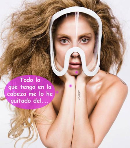 Lady Gaga lo enseña todo, todo y todo: nada por arriba... ¡y nada por abajo!