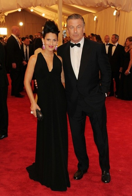 Alec Baldwin and wife Hilaria Thomas