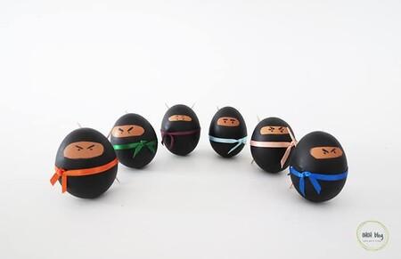 Manualidades Ninos Decorar Huevos Pascua 14