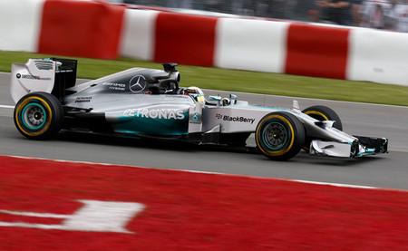 Lewis Hamilton, el más rápido de la tercera sesión de entrenamientos libres