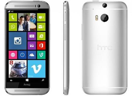 Otra vez, HTC podría estar haciendo un Windows Phone similar al HTC One M8