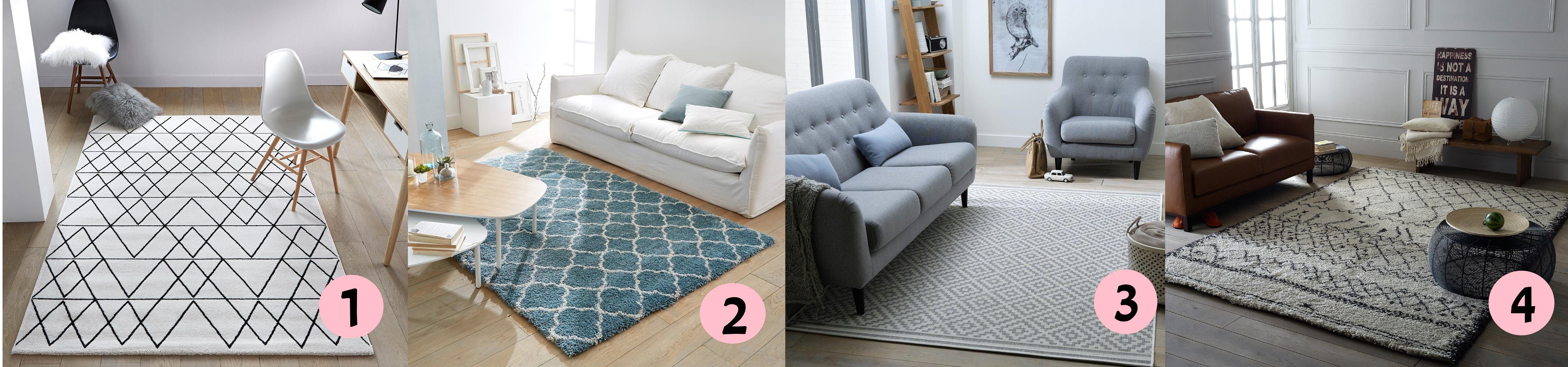 4 alfombras para el sal n por menos de 100 euros y con - Alfombras para el salon ...