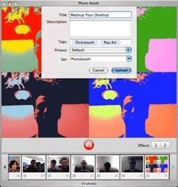 FlickrBooth: Las imágenes de Photobooth, directas a tu cuenta en Flickr