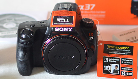 Sony SLT-A37, análisis