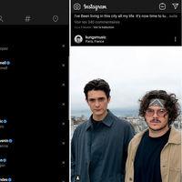 Instagram empieza a probar el modo oscuro en Android