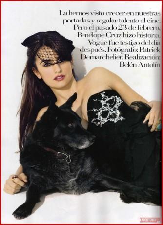 Foto de Todas las fotos de Penélope Cruz para Vogue (1/7)