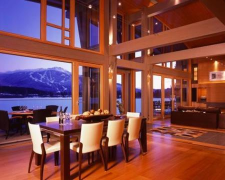 Espectacular casa de lujo de montaña en Vancouver, Canada