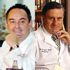 Ferrán Adrià y Valentín Fuster fomentan la dieta saludable