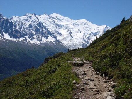 A View Of Mont Blanc From The Tour Du Mont Blanc 2007