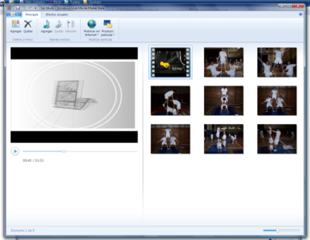 Windows Live Movie Maker apesta