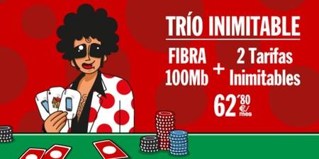 Trio de Pepephone, su primera oferta para familias con fibra y dos líneas móviles Inimitables