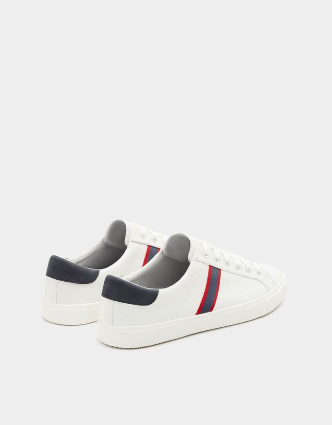 Para el verano, éstas zapatillas blancas de Pull&Bear en rebajas serán el must definitivo de tu look
