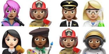 Las feministas se llevarán una alegría para el cuerpo con la nueva colección de Emoji