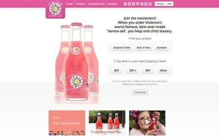 Vender limonada contra el trabajo infantil