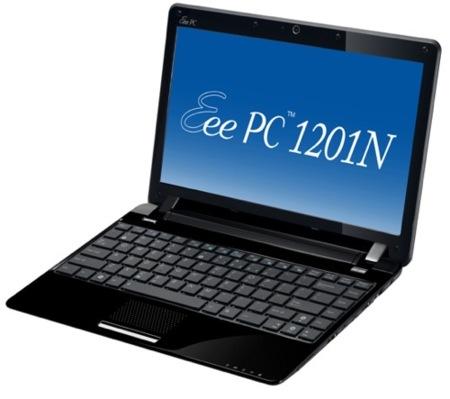 Asus Eee PC 1201N, un ultraportátil potente