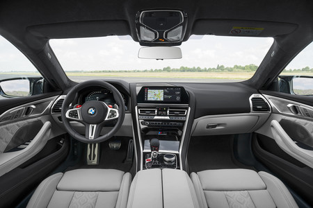 BMW M8 Gran Coupe interior