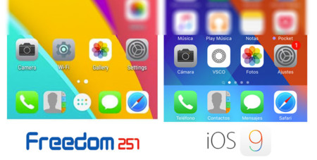 Freedom 251 Phone vs. iOS 9