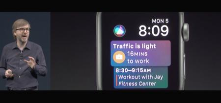 watchOS 4 en la WWDC17