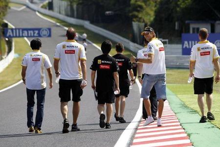 Gran Premio de Japón de Fórmula 1. Los pilotos se quejan de la cercanía de los muros