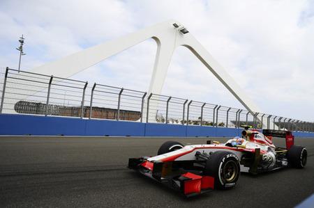 HRT cumple en el Gran Premio de Europa