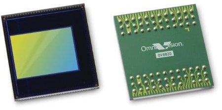 OmniVision ya tiene un captor para móviles de 8 megapíxeles, vídeo en 1080p y formato RAW