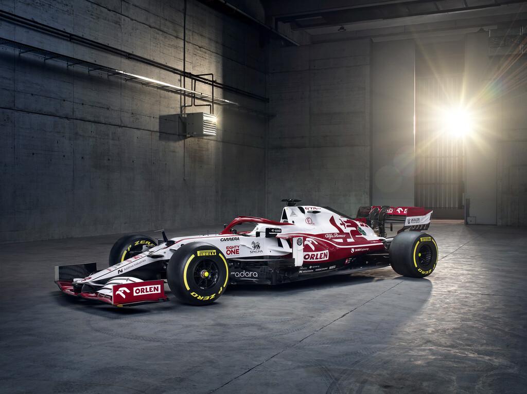 Este es el Alfa Romeo C41, el que podría ser el último coche de Kimi Raikkonen en la Fórmula 1