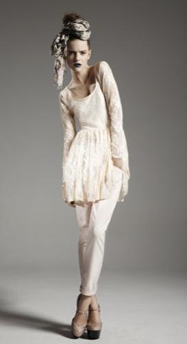 TopShop, colección Primavera-Verano 2010: informal y moderna, catálogo completo, vestido