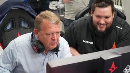 El presidente de Dinamarca juega al CS:GO con Astralis y anuncia una estrategia nacional para los esports