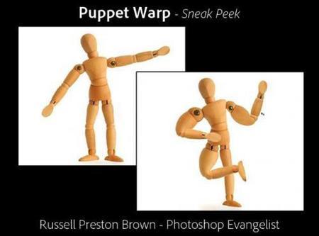 Puppet Warp, otra interesante herramienta de Photoshop CS5