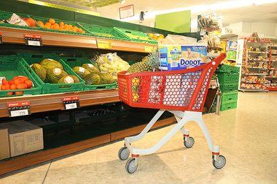 La subida del IVA en la cesta de la compra