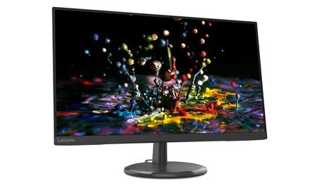 Este monitor lleva 60 euros de descuento y es perfecto para el teletrabajo: Lenovo C27-20, por 139 euros en PcComponentes