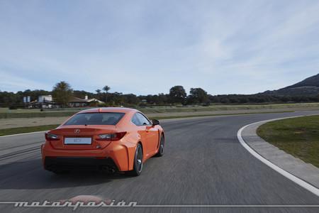 Lexus RC F - toma de contacto Ascari