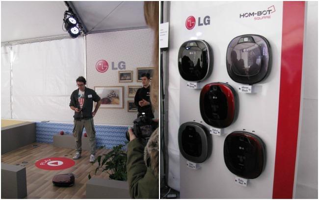 LG Hombot square, presentación 1