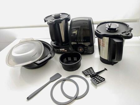 Probamos el nuevo robot de cocina lowcost Mambo 10090 de Cecotec con dos jarras y wifi (como la última Thermomix)