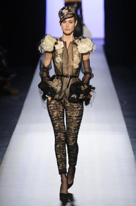 Defile Jean Paul Gaultier Printemps Ete 2015 Paris Look 26