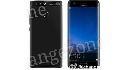 Ahora aparecen renders del Huawei P10 y revelan su diseño con pantalla dual edge