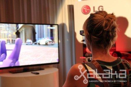 LG nos enseña sus nuevos Infinia con 3D y sistema LED mejorado