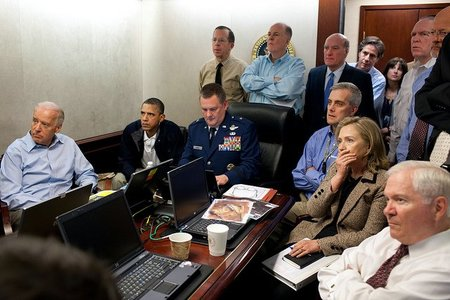 "La foto de Obama en la ""situation room"" camino de ser la más vista en Flickr"