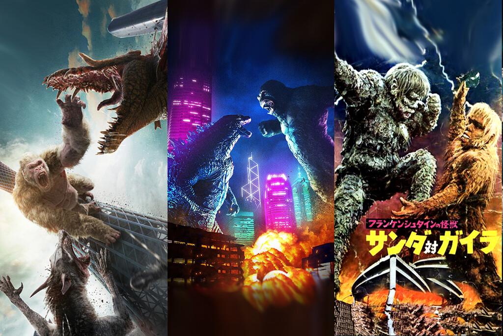 De 'El mundo perdido' a 'Godzilla vs Kong': 14 películas con grandes combates de monstruos gigantes en el cine fantástico