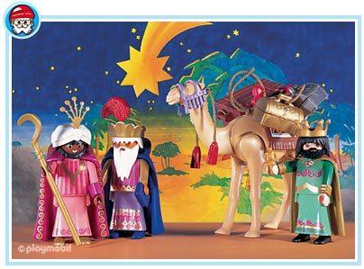 ReyesMagos-Playmobil