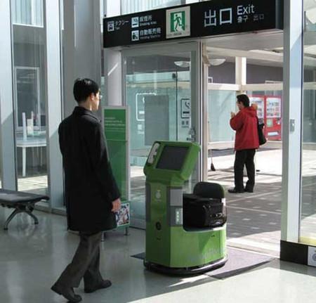 RoboPorter, un robot que lleva tus maletas