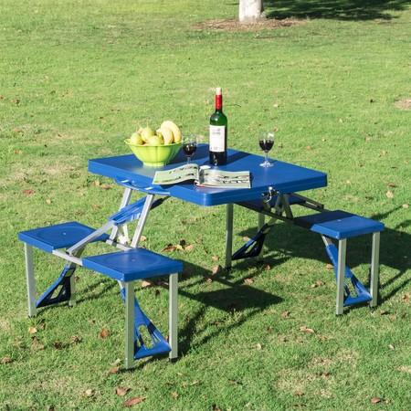 Maletín con mesa y sillas