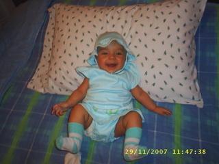 La foto de tu bebé: Amplia sonrisa