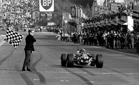 Llegada GP Bélgica 1967
